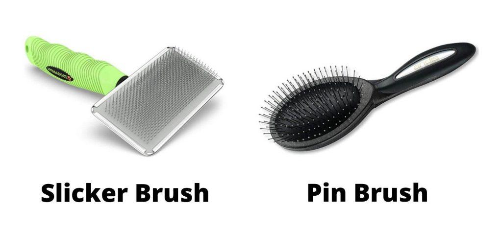 Bichon Frise Shed - Brushes