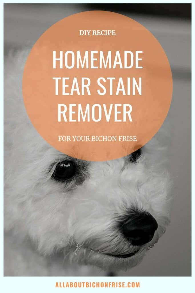 Homemade Tear Stain Remover - Pin
