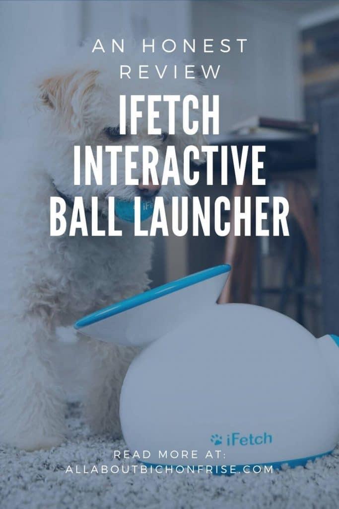 iFetch Interactive Ball Launcher - Pin