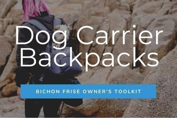 Dog Carrier Backpacks - Bichon Frise Owner's Toolkit