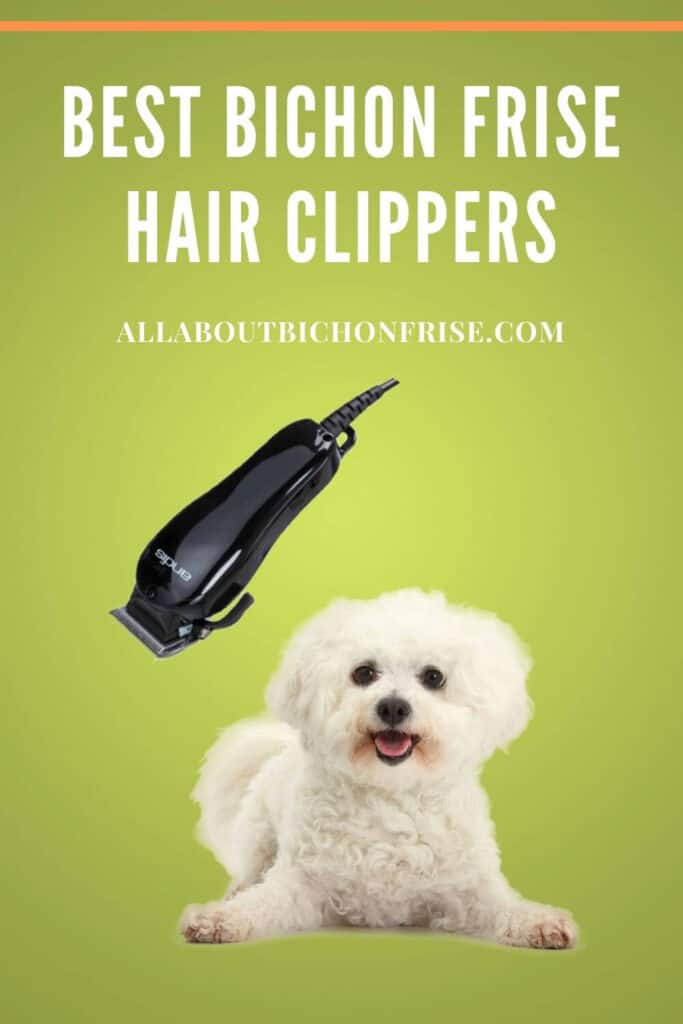 Best Bichon Frise Hair Clippers - pin